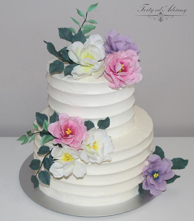 ... wedding cake ...