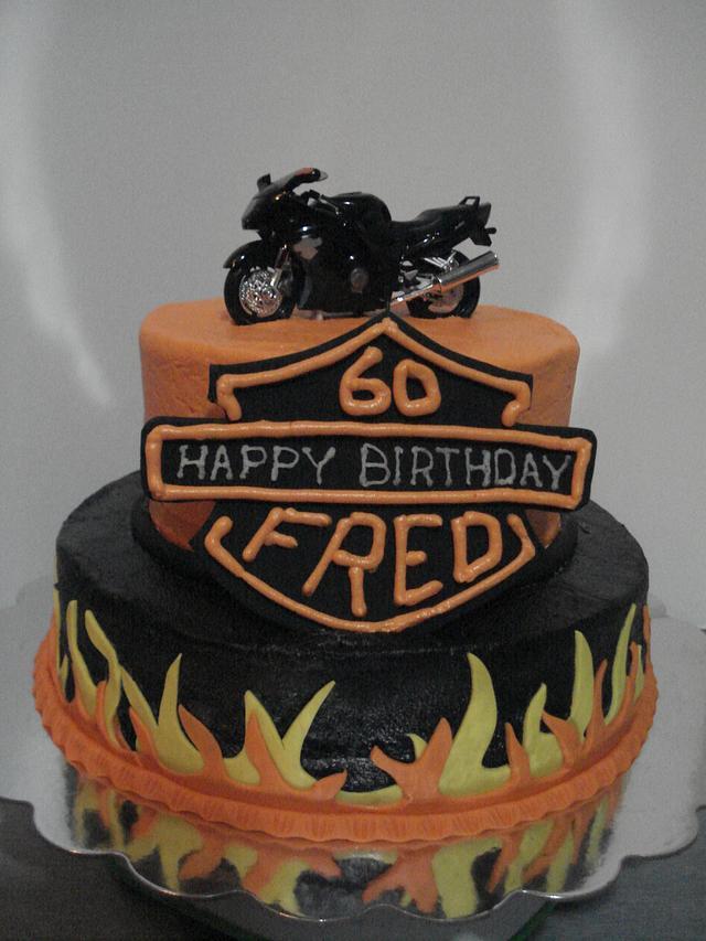 'Harley' Birthday Cake