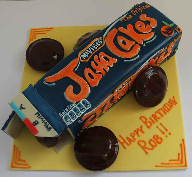 A Giant Box Of Jaffa Cakes Birthday Cake!! :-)