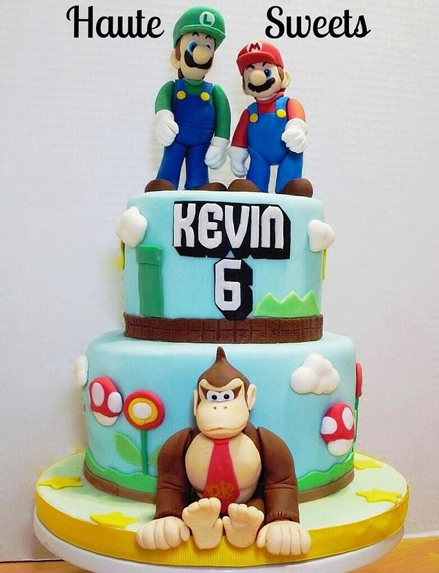 Miraculous Mario Bros And Donkey Kong Birthday Cake Cake By Cakesdecor Funny Birthday Cards Online Bapapcheapnameinfo