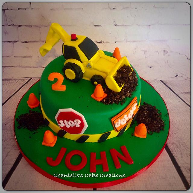 Diggerloader cake