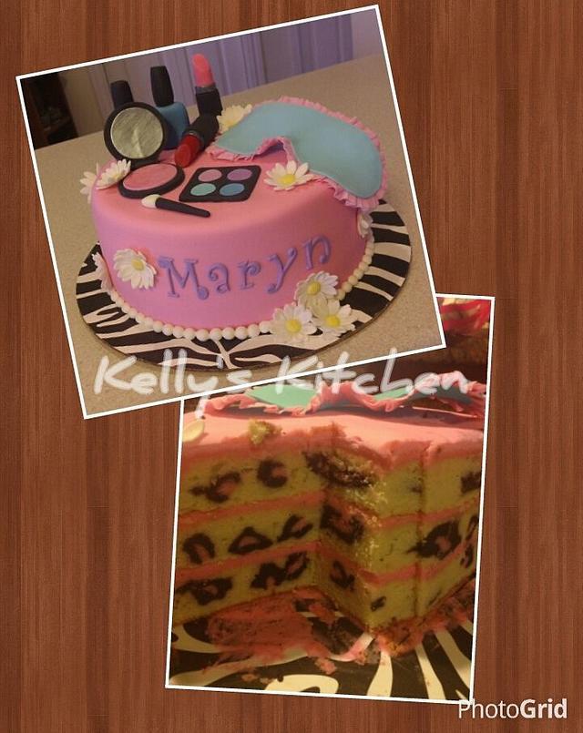 Awesome Spa Themed Birthday Cake Cake By Kelly Stevens Cakesdecor Personalised Birthday Cards Xaembasilily Jamesorg