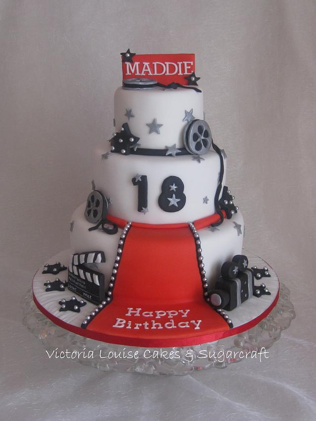 Cool Hollywood 18Th Birthday Cake Cake By Cakesdecor Funny Birthday Cards Online Elaedamsfinfo