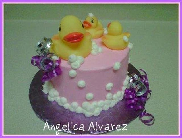 Pink duckies