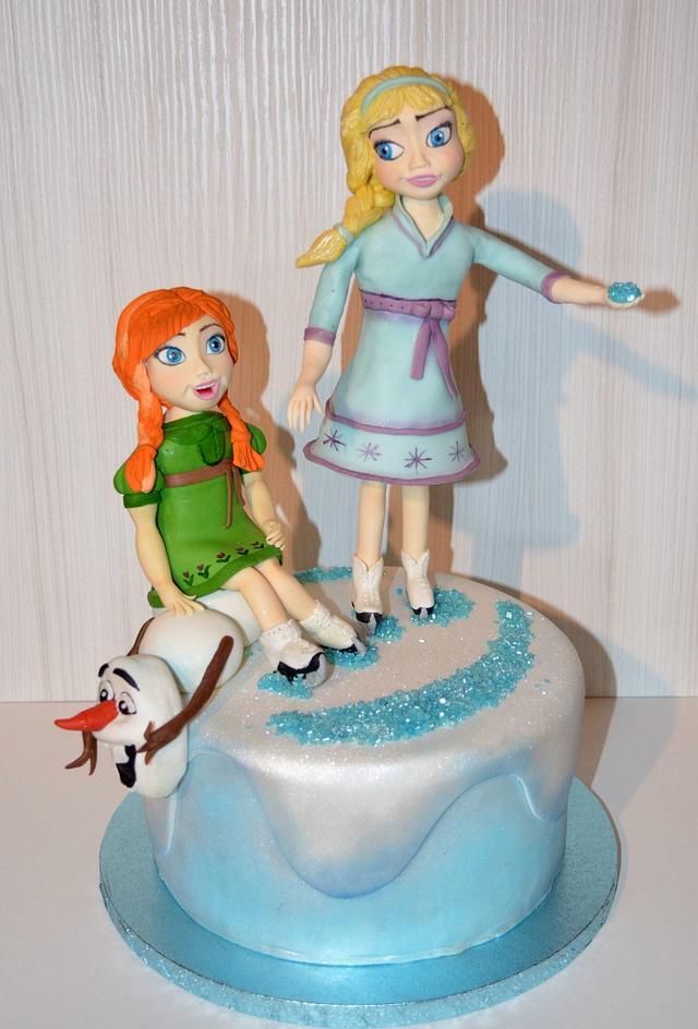 BABY FROZEN CAKE
