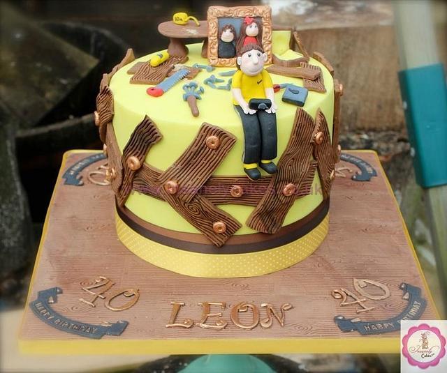 40th Birthday Cake Surprise!