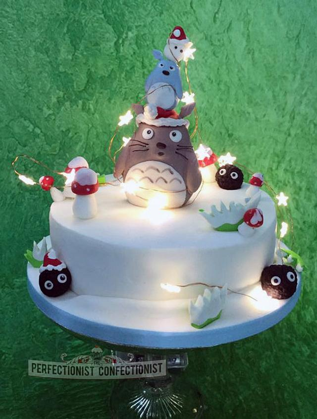 Geraghty Christmas - Totoro Christmas Cake