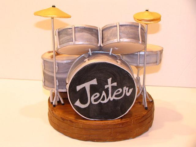 Drum Set Cake Topper