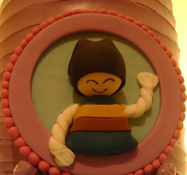 A different story cake.