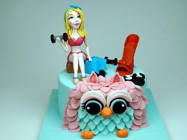 18th Birthday Cake for Girl