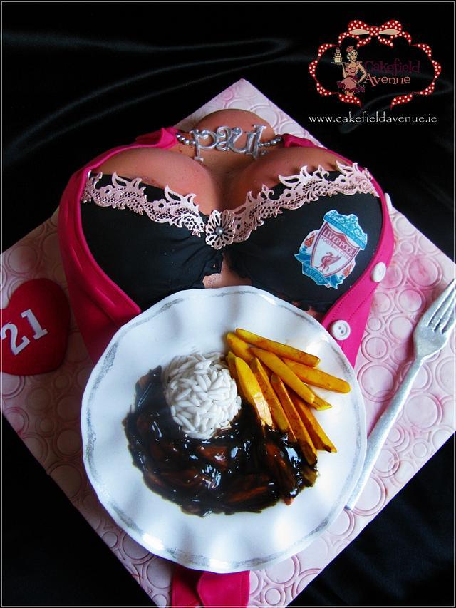 18 + ... DINNER SERVED :)