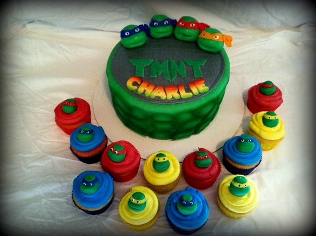 Fabulous Teenage Mutant Ninja Turtles Birthday Cake Cake By Cakesdecor Funny Birthday Cards Online Fluifree Goldxyz