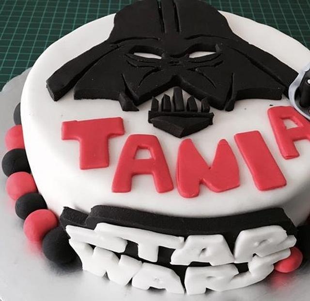 darth vader cake