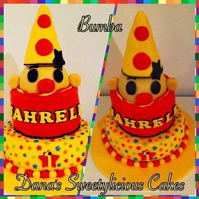Bumba clown cake