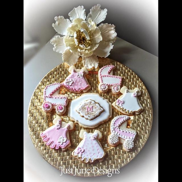 Girl Baby Shower Cookies