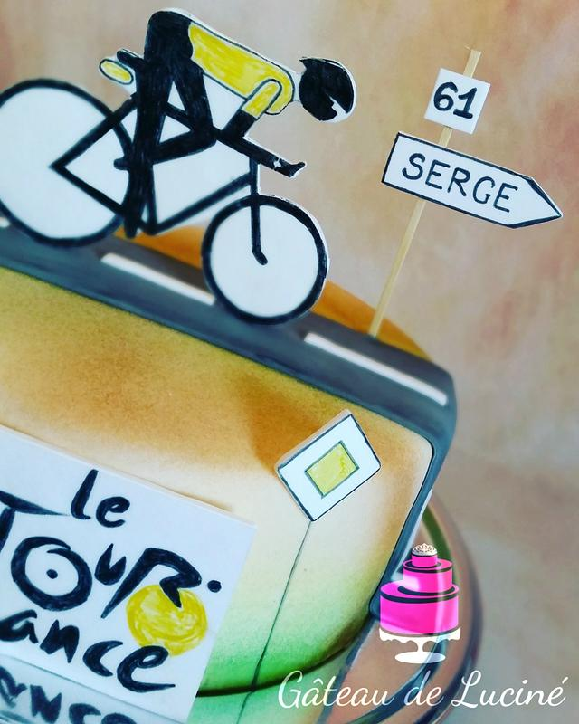 "Cake ""Tour de France"""