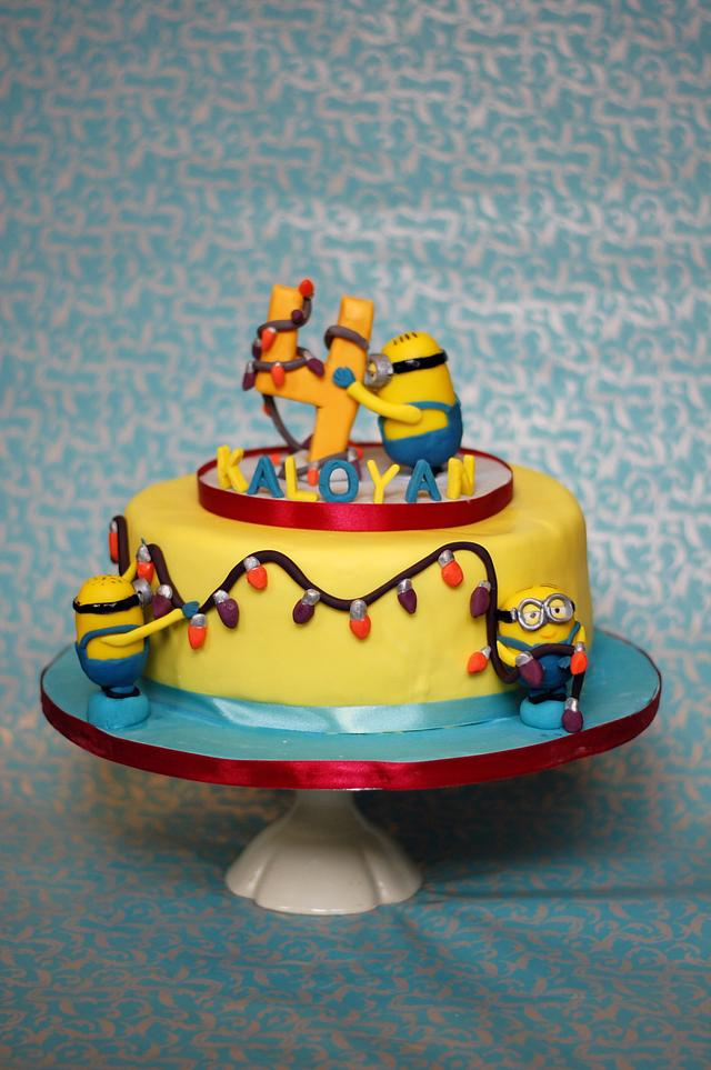 Prime Minions Birthday Cake Cake By Boutique Cookies Cakes Cakesdecor Funny Birthday Cards Online Fluifree Goldxyz
