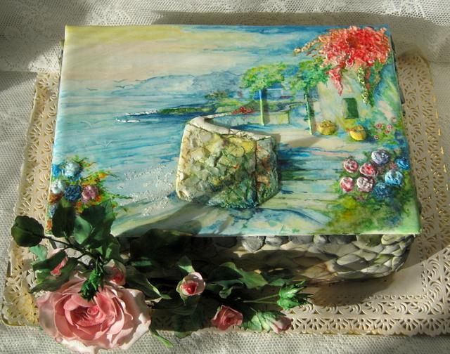 """Cake """"Sunny Italy"""""""