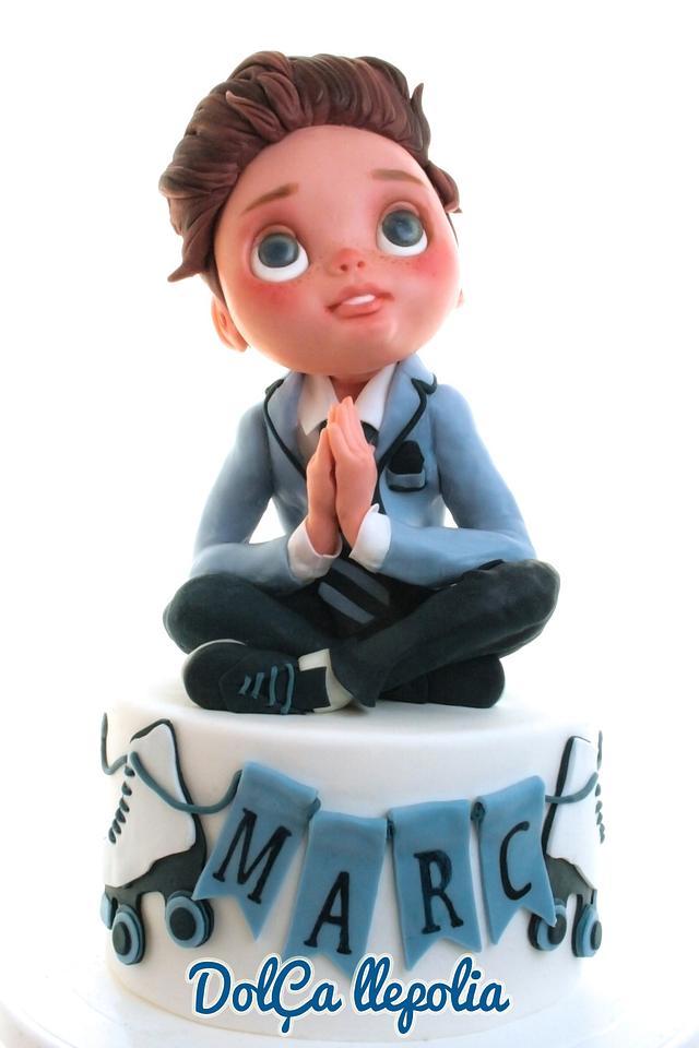 Marc's comunnion cake