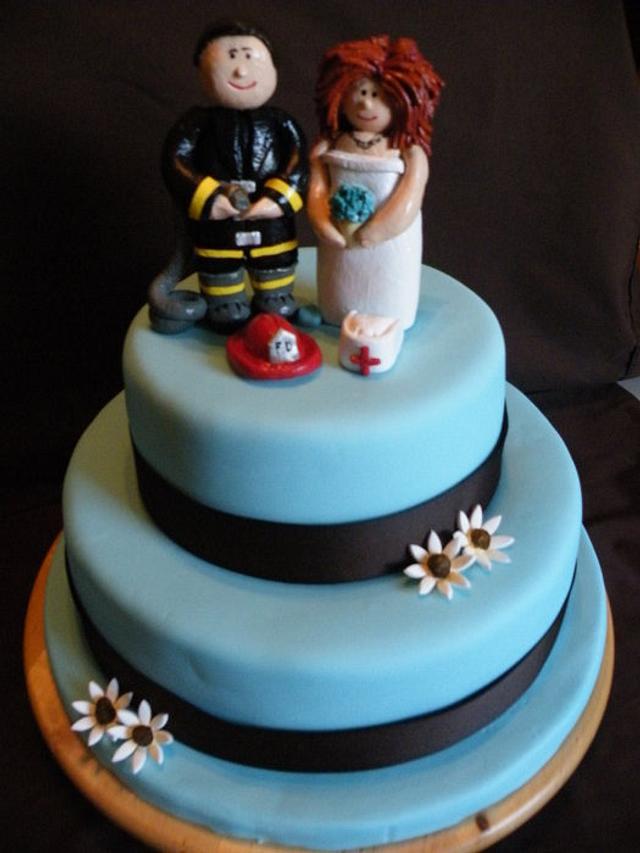 Lynn & Tim's Wedding Cake