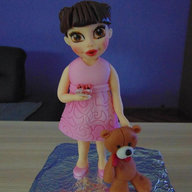 little girl figurine