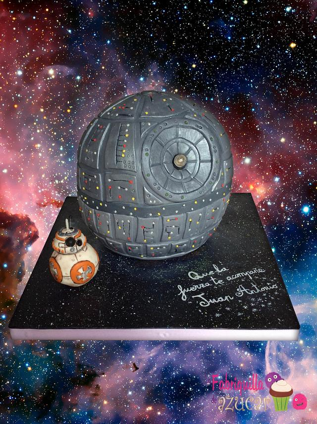 Death Star and BB8 and Joda