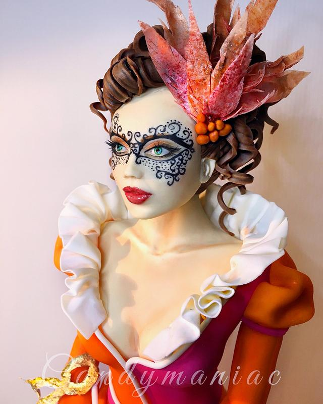 Masquerade lady - S.W.C.Collab