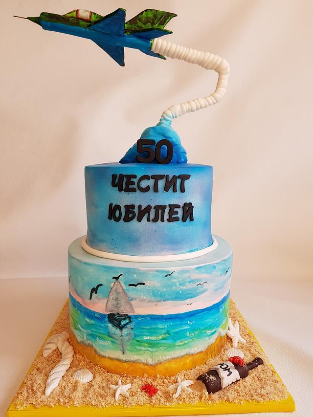 Airplane ( sea) cake