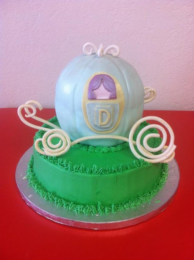 Cinderella's Coach Cake