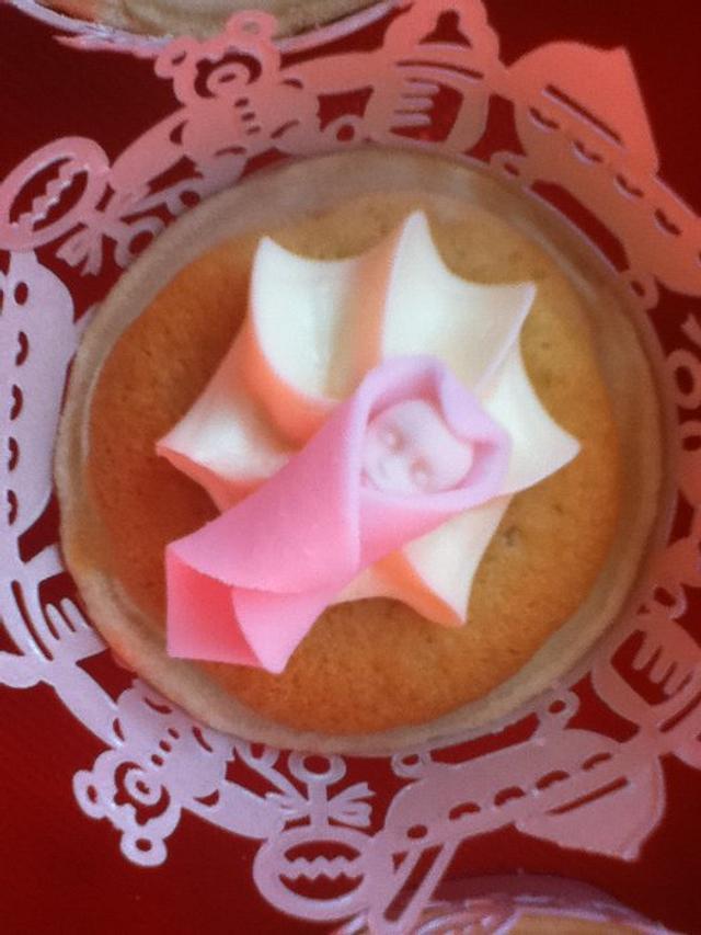 Christening lemon sponge pies