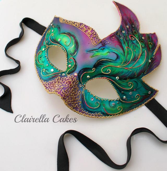 Peacock Masquerade Ball Mask