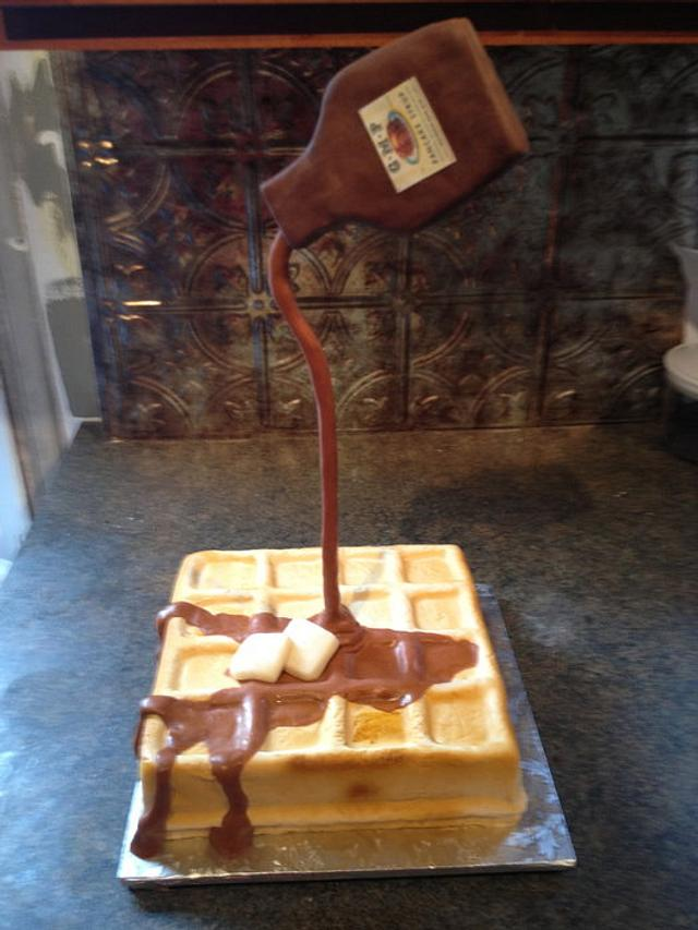 waffle-class project at Flour Confections