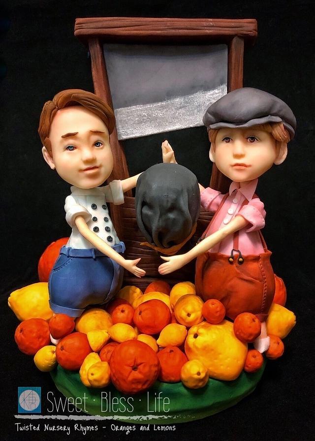 Twisted Nursery Rhymes -Oranges and Lemons