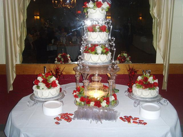 My Sons Wedding Cake I Made for Him and his new Wife.