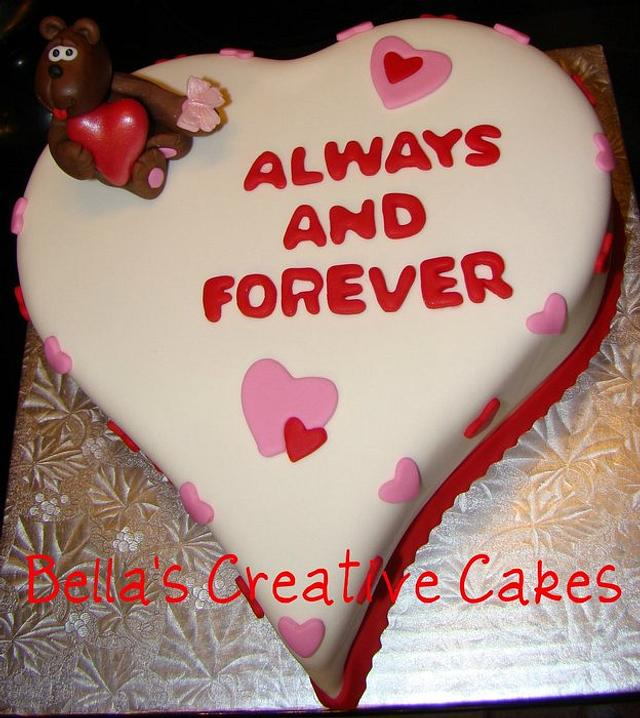 Always and Forever Cake