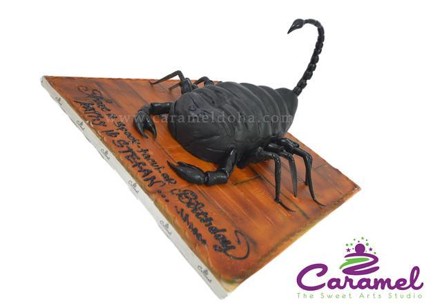 3D Scorpion Cake