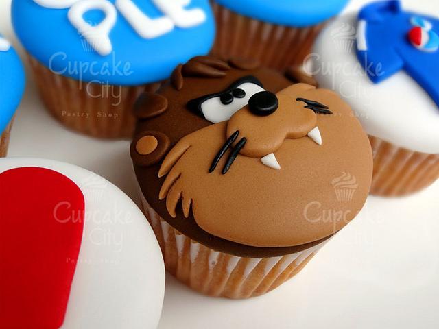 Taz Cupcake
