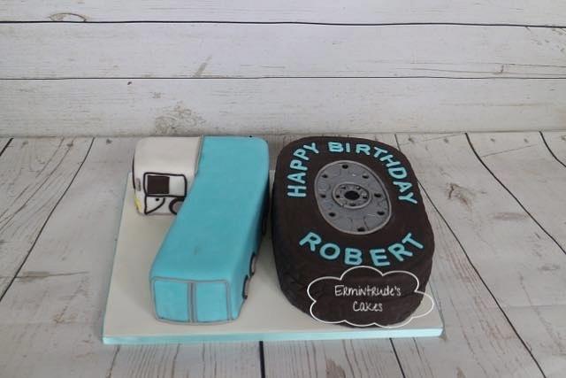 70th birthday / Truck cake