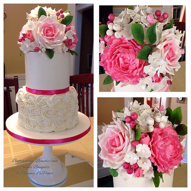 Buttercream Beauty and Sugar Bouquet
