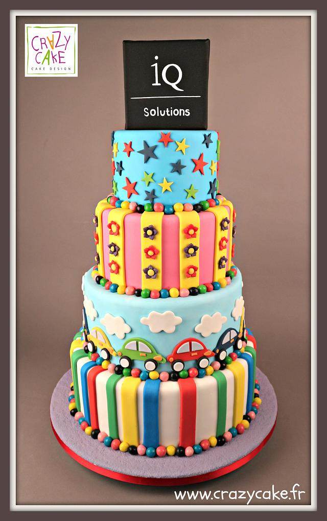 Family Day Corporate Cake