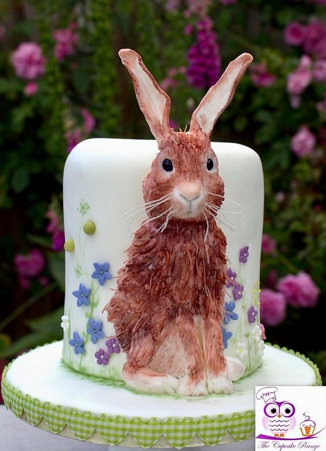 Scraggly hare