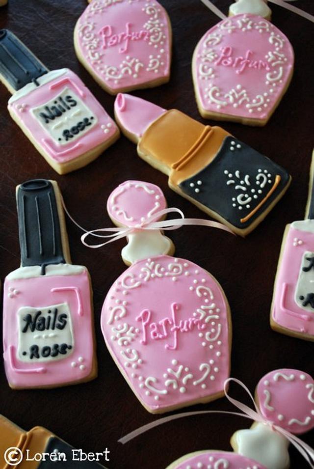 Cosmetics Cookies!
