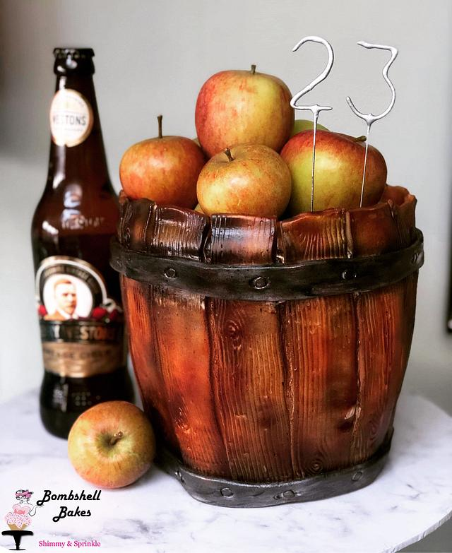 Apple Strudel Barrel Cake