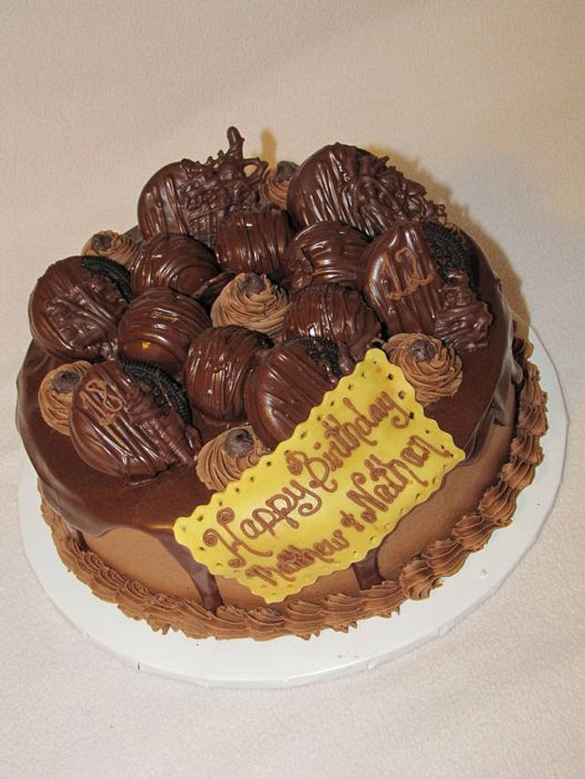 Dark Chocolate Lovers Cake