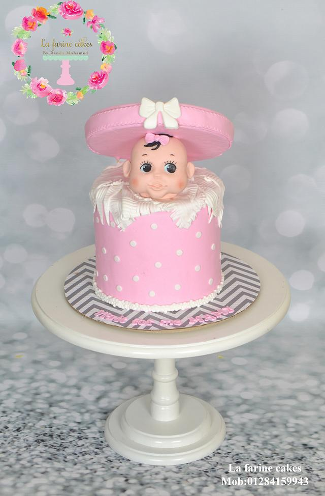 Peek a boo cake
