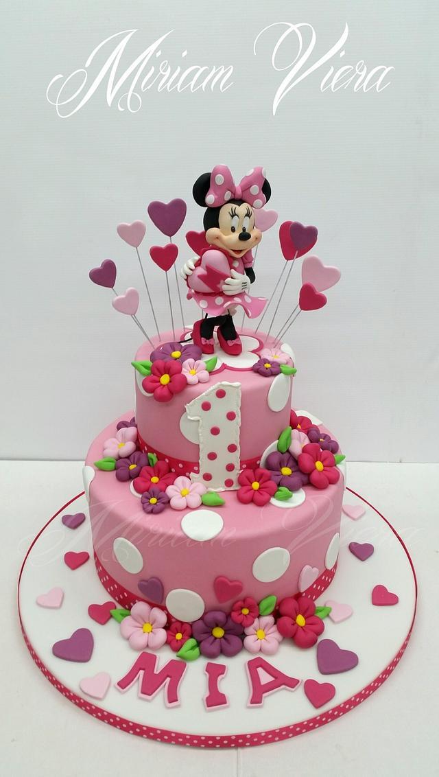 My Disney Minnie Cake ♡
