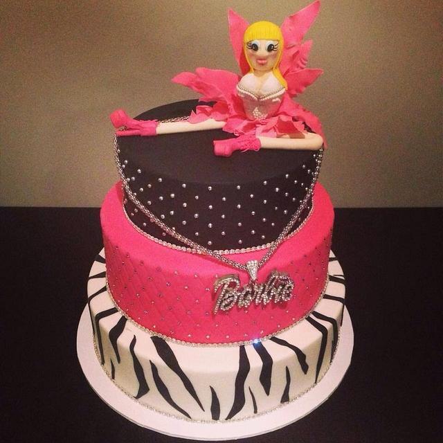 Amazing Nikki Minaj Barbie Cake By Rainies Cakes Cakesdecor Personalised Birthday Cards Paralily Jamesorg