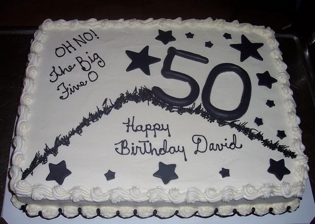 50th Birthday - David
