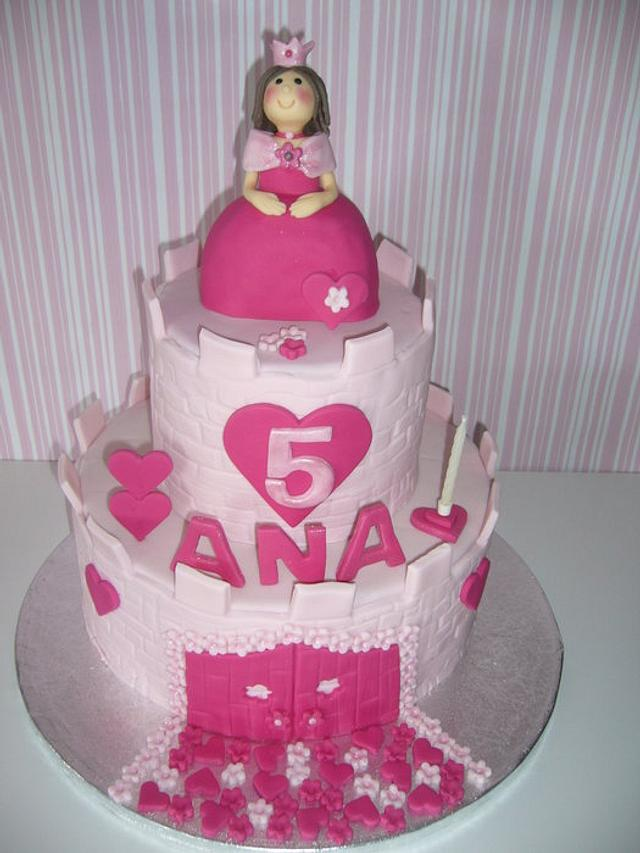 Castle - princess cake