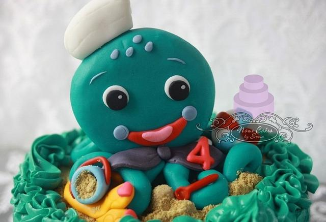 Octapus Cake